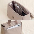 3 Inner pockets, 1 Back pocket