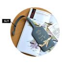 Slit - Away we go travel swing luggage name tag