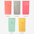 Color - Lovelyborn synthetic leather pocket pencil case