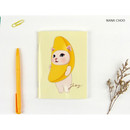 Nana choo - Choo Choo cat small lined and grid notebook ver2