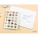 Costume - Choo Choo cat small lined and grid notebook ver2
