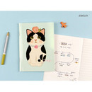 Jewelry - Choo Choo cat small lined and grid notebook ver2