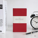 Red - The Basic official slim undated weekly diary