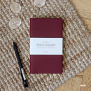 Wine - The Basic official slim undated weekly diary