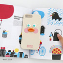White duck - Brunch brother duck Galaxy Note 8 silicone case cover