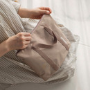 Beige - Byfulldesign Travelus travel medium zipper tote bag