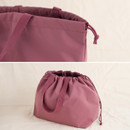 Drawstring closure - Byfulldesign Travelus travel pocket drawstring shoulder tote bag