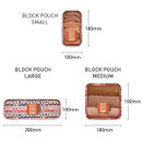 Size - Enjoy journey mesh bag packing aids block pouch set