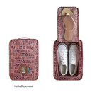 Hello rosewood - Monopoly Enjoy journey travel zip shoes pouch bag