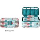 Bubblepop mint - Monopoly Enjoy journey travel pouch bag for underwear and bra