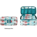 Bubblepop mint - Monopoly Enjoy journey travel pouch bag for underwear and bra