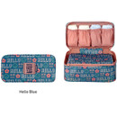 Enjoy journey travel pouch bag for underwear and bra