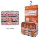 Funny journey - Enjoy journey large travel hanging toiletry pouch bag