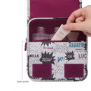 Monopoly Enjoy journey small travel hanging toiletry pouch bag