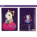 Wori - Choo Choo cat A5 ruled lined notebook ver2
