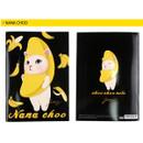 Nana choo - Choo Choo cat A5 ruled lined notebook ver2