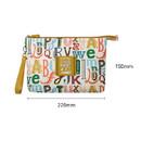 Size - Monopoly Enjoy journey travel large mesh zipper pouch