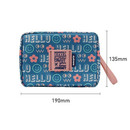 Size - Monopoly Enjoy journey travel large multi zipper daily pouch