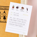 Review - Todac Todac illustration daily sticky notepad memo