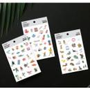 Everyday deco clear sticker set