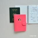 Scarlet pink - Du dum RFID blocking passport case holder