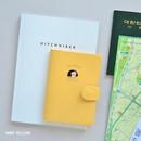 Mint yellow - Du dum RFID blocking passport case holder