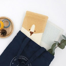 Colly - ROMANE My rolly cotton long pouch