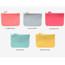 Colors of Lovelyborn daily zipper flat small pouch
