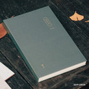 Deep green - The Meaningful time large dateless daily diary journal