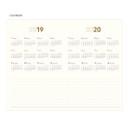 Calendar - 2019 Slim and sensible medium dated weekly planner