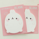 Blank - Bookcodi Molang basic cute sticky memo note ver3
