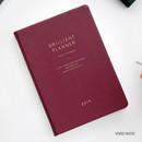Vivid rose - 2019 Brilliant simple dated weekly planner