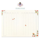 Yearly plan - Alice in wonderland hardcover dateless daily diary