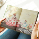 Title & image -Alice in wonderland hardcover dateless daily diary