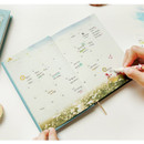 Monthly plan - Anne story hardcover dateless daily diary