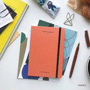 Orange - The time planner small undated daily diary agenda ver3