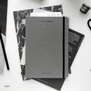 Gray - The time planner large dateless weekly planner