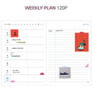 Weekly plan - But today dateless weekly diary agenda ver5