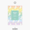 Rainbow - Rainbow dateless weekly diary planner
