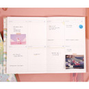 Weekly plan - Rainbow dateless weekly diary planner