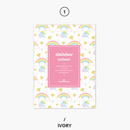 Ivory - Rainbow dateless weekly diary planner