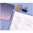 To do list - Moon piece large dateless weekly diary agenda