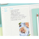 Grid note - Moonshine undated weekly diary planner agenda