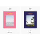 Hot pink, Navy - The moments dateless weekly diary planner