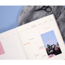 Yearly plan - The moments dateless weekly diary planner