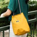 Mustard - Som Som durable taslan bucket shoulder bag