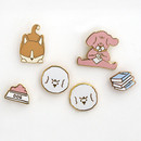 ROMANE My rolly pin badges set