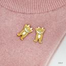 Colly - Romane friends pin badge