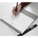 2NUL 2019 Note spiral desk flip calendar