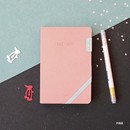 Pink - 2019 Day by Day small dated weekly diary